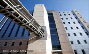 Emerson Life sciences Building