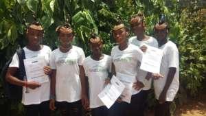 Girls in the MindLeaps Program