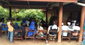 Community Sensitization Meeting