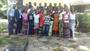 Some of MindLeaps' Conakry Students