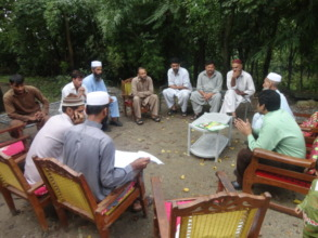 Community Meetings for Handpumps in the areas