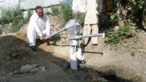 A Hand Pump installed