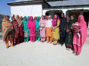 Health Seminars with women of Balakot