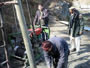 Installation of 1 water pump in one of the area