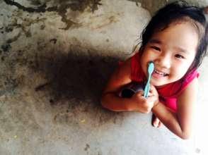 Grains de riz pour un sourire