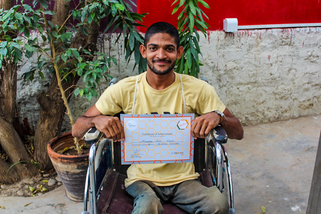 Skills Training of 100 Persons with Disabilities