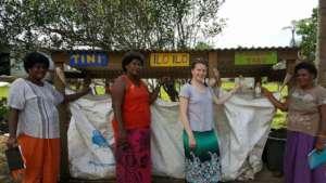 The first recycling hub on an Island in Fiji
