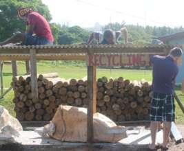 Building the Fiji recycling centre