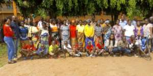 Group Photo after parents training sessions