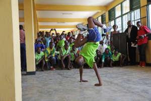 Doing acrobats