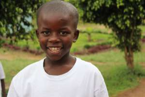 Happy face of kid who joined our program