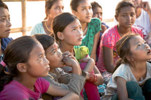 Quake-affected children supported by Aura Freedom