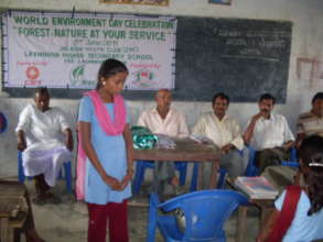 Girls participation in school events