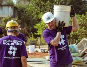 Our CEO, Erik, joining volunteers in Nepal