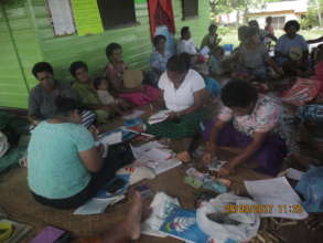 Nadi women's group at the workshop