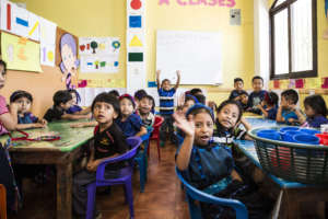 The San Antonio Preschoolers in Their Classroom