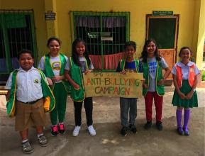 Little nurses lead anti-bullying campaign