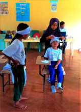 Emergency response training for mini-nurses