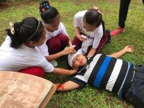 Mini Nurses to the rescue