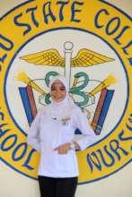 Nursing student ready and prepared
