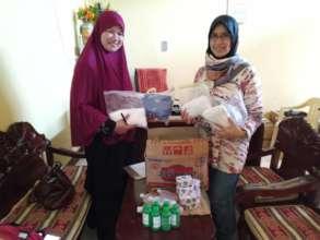 Leaders of MSU Nursing School receive AAI aid
