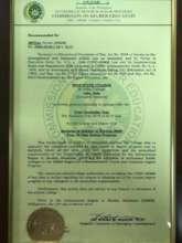 SSC Nursing School Charter Renewal Order
