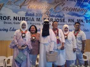 Proud faculty of SSC Nursing School