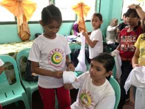 Little Nurses of Sulu get Red Cross 1st aid lesson
