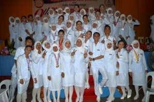 Graduating Class, Sulu State College nurses