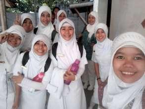 Nursing gradutes of SSC Nursing School 2015