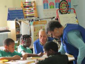 Foster Grandparents mentoring DC Elementary Kids