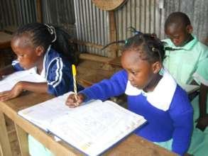 Books for the children of Gloria Education Centre