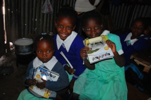 stationery for the children
