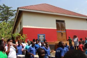 Dedicating Mutufu Building January 2020