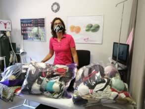 Bra donation received to assist poor rural women