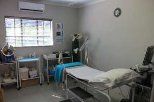 Hlokomela's health clinic for women