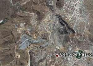 Cerro de Pasco from Satellite