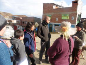 Talking with mothers in Paraghsa