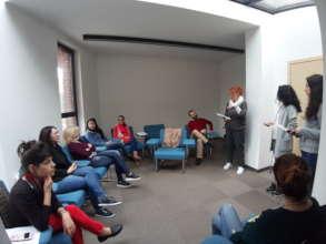 """My dream school"" session during teacher training"