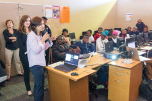 Promoting Khan Academy - in South Africa