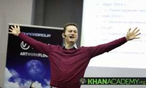 Bulgarian SoftUni co-founder supports Khan Academy