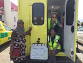 Assisting Refugees on the Move:  Care-A-Van