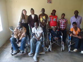 Donation of four wheelchairs