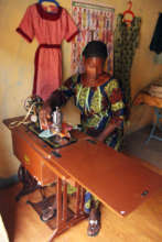 Business owner sews clothes and sells car parts