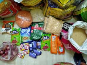 Ration Pack for one family of six