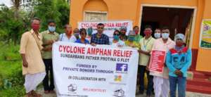 Taking Food Relief to Abijul's Community