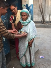 Sabra - now badly in need of food daily