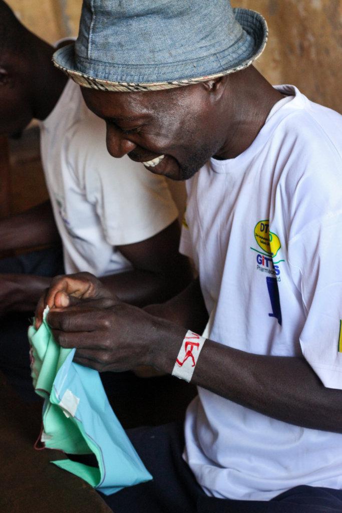 Train 800 Girls to Sew Sanitary Pads in Uganda