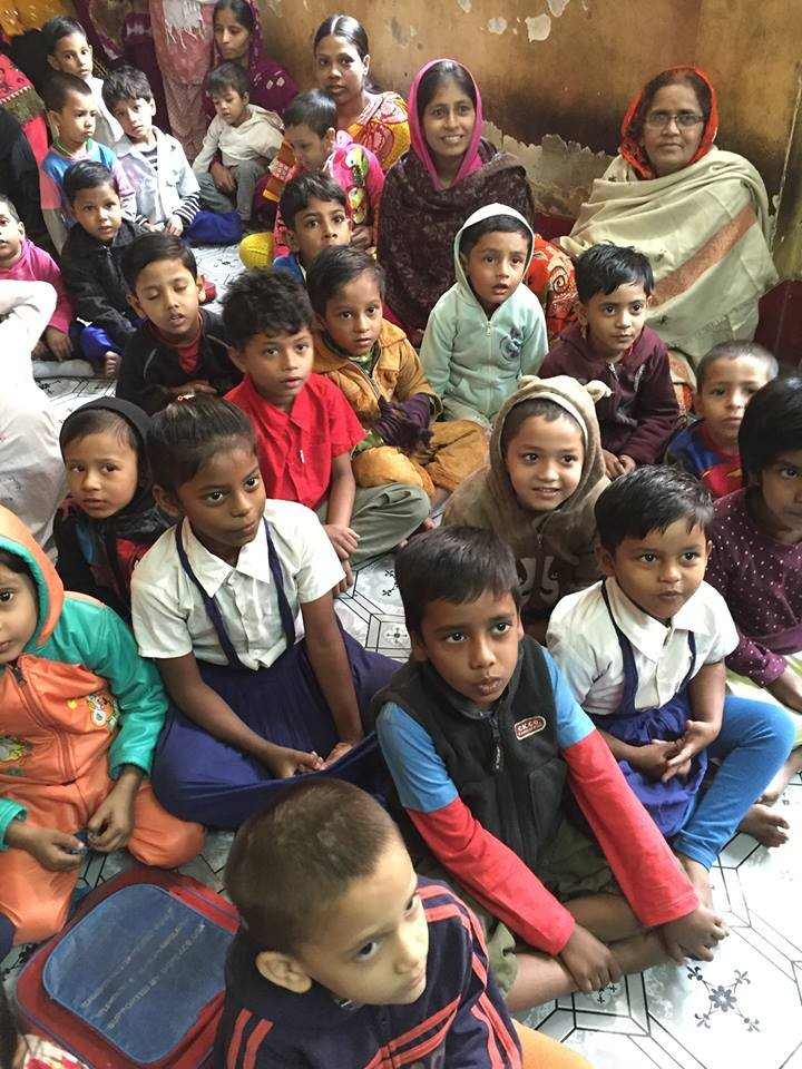 Send 2100 Children in Slums to Schools