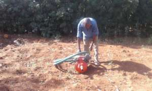 Generator acquired for puming water for irrigation